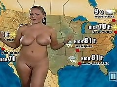 Nude Weather Girl