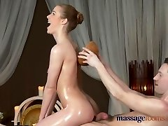 Massage Rooms Shaved nympho girl gets a great hard fucking