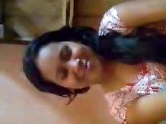 Desi Chick Boobs Pressed By Boyfriend