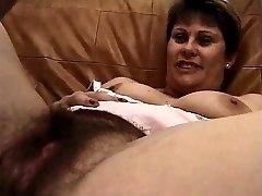 Hairy puss mature fucks big cock