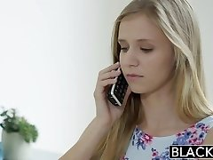 BLACKED Diminutive teen Rachel James first BBC