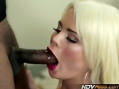 Blonde babe Alexis Ford Gets Penetrated by Enormous Black Cock