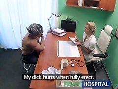 FakeHospital Hot moist vulva solves penis problem