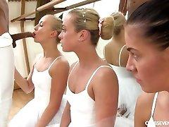Cayla Lyons, Evelyn Dellai, Vinna Reed Pleasing the ballet educator
