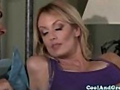 Hugetitted Stormy Daniels loves morning fuck