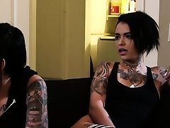 Emo babe gets bbc popshot