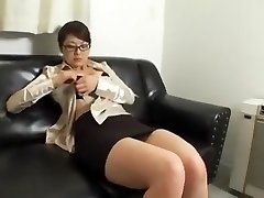 Amazing homemade Thick Tits, Secretary fuck-fest clip