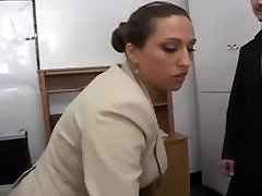 Sexy Busty Secretary Delectations Her Boss