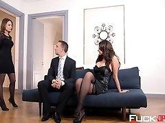Anna Polina, Nikita Bellucci In The Sheer Pleasure Provider Episod