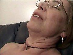 Granny enjoys sperm