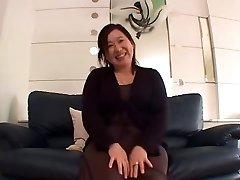 Japanese Plus-size Granny Internal Cumshot sanae arai 52years