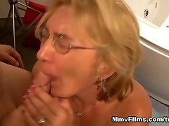 Crazy porn industry star in Incredible Cumshots, Blonde sex scene