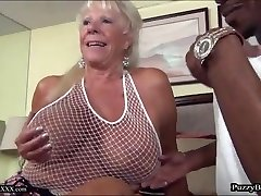 72 year old Granny Craves Good-sized Black Cock