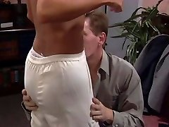 Blond fucked and hooters creamed