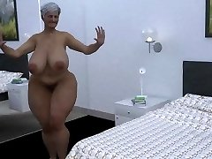 giant mama dance cgi