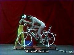 Beautiful Dame is Riding a Intercourse-bike