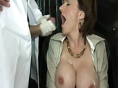 British MILF Using Pound Machine