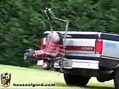 Auto Truck Fuck Machine - More Videos WWW.FETISHRAW.COM