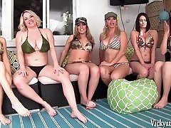 Vicky Vette's Neighborhood Orgy! 6 Ladies!