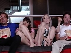 DaughterSwap - Teenagers Tricked Into Fucking Dads Best Pal