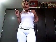 Big pussy elderly 54fuck yuong