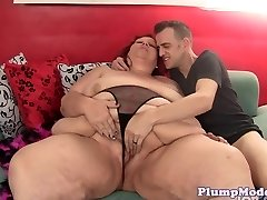 From The Rear loving plus-size gets a hard pounding