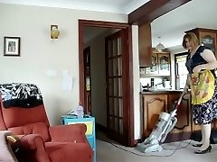 HOT Milf Fellates IT UP ALL OVER THE HOUSE