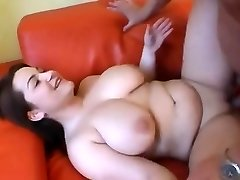 Nice Chubby girl having funbags sucked and fucked
