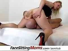 Czech housewife Gabina vulva licking and ass-smothering ftv