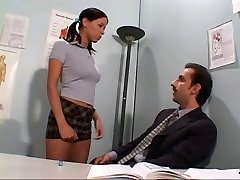 Teacher sodomising student's rectum