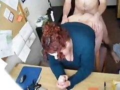 Warm FUCK #57 (Redhead BBW Secretary in the Office)