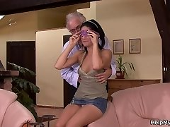 Cuckold surprise for youthfull wife