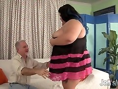 Fatty Asian Plus-size Sugar gets fucked rock hard