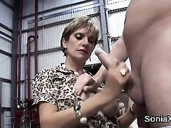 Unfaithful british mature gal sonia exposes her xxl hoote