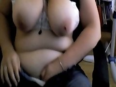 Seeing me masturbating