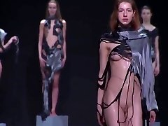 Moist Naked Fashion Show... Oops!