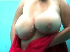 Hidden Cam beach cabin huge boobs