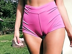 Big Bootie Fit Body Fat Cameltoe Perky Tits Blond Teen