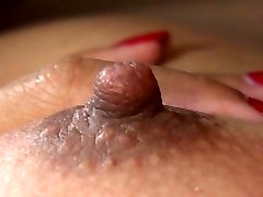 Asian titty bang is arousing