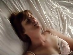Older Female having her fun