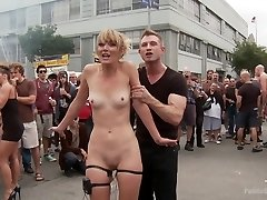 Folsom Street Performance The Ultimate Dehumanization Of Mona Wales - PublicDisgrace