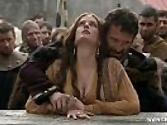 Eva Green - Bare in Public/forest - Camelot S01E02 www.celeb.today