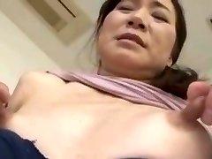 Skinny japanese with huge nipples