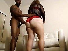 Big funbag big ass wifey cheats with BIG BLACK COCK PART 1