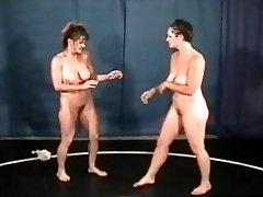Bust Babes Naked Wrestling