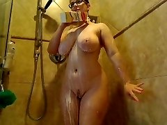 Webcams 2015 - The Well Known AmberCutie 5: Milk Shower