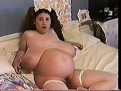 Stunner Moons 9 Months Pregnant & Bustin 2