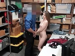 Shoplyfter - Preggo Teen Penalized And Fucked For Stealing