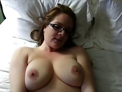 Huge-titted hairy babe gets dicked in an amateur HD video