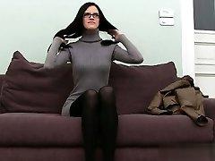 Busty student brutish anal orgasm